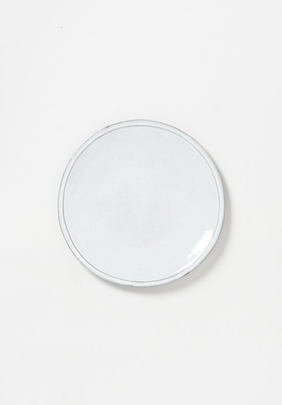 Astier de Villatte Simple Dinner Plate White