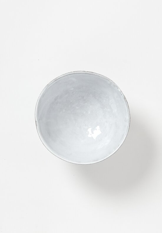 Astier de Villatte Sobre Salad Bowl in White