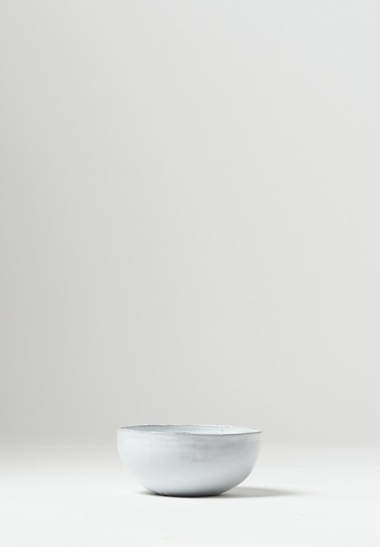 Astier de Villatte Simple Mini Salad Bowl White
