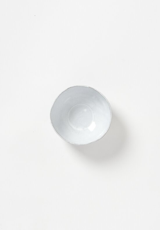 Astier de Villatte Simple Mini Salad Bowl in White