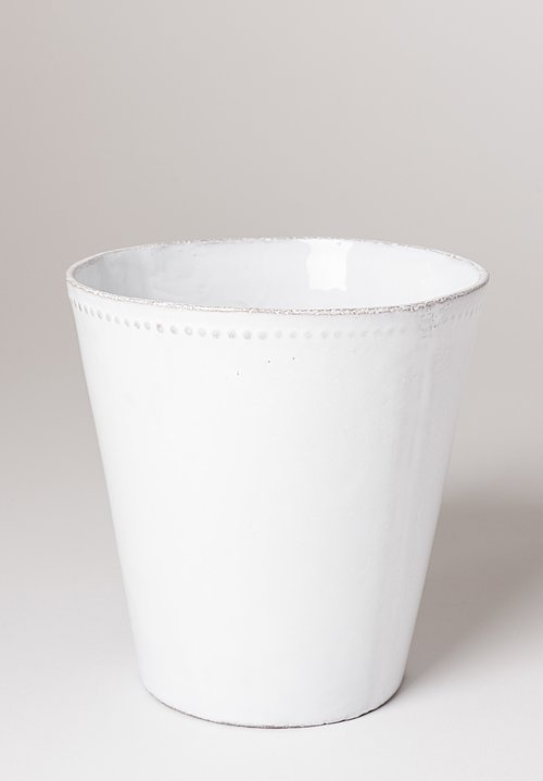 Astier de Villatte Jojo Medium Pot White