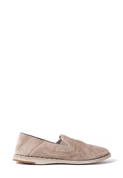 Officine Creative Irmine Suede Shoe in Elefante