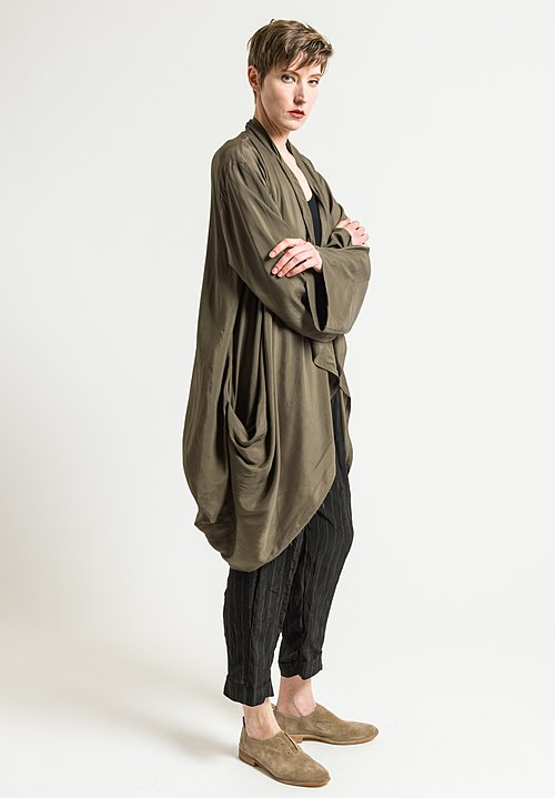 Urban Zen Parachute Cardigan in Incense