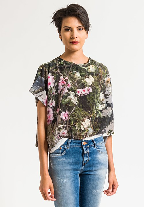 Anntian Asymmetric Short Top in Magnolie