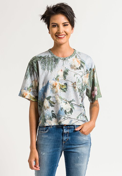 Anntian Short T-Shirt in Magnolia
