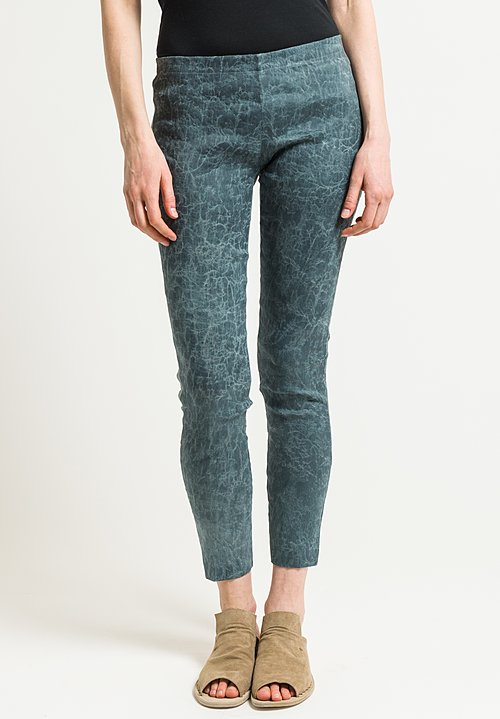 Uma Wang Celeno Philis Pants in Steel Blue