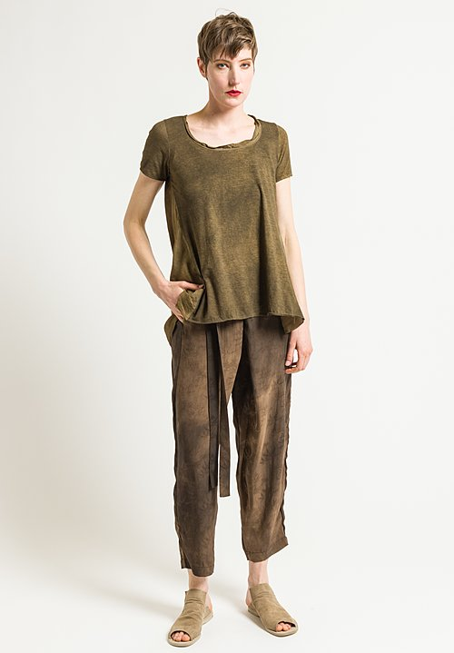 Uma Wang Bamboo Pomona Pants in Brown