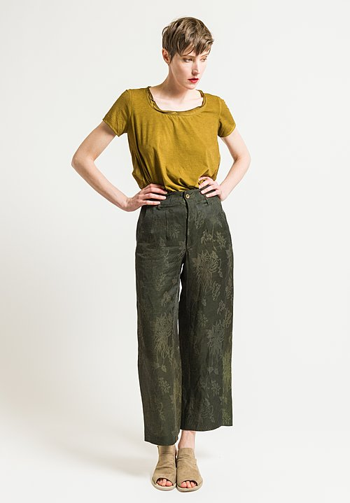 Uma Wang Potina Pants in Dark Green