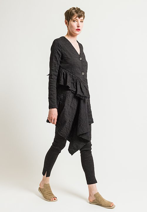 Uma Wang Celeno Kolena Jacket in Black