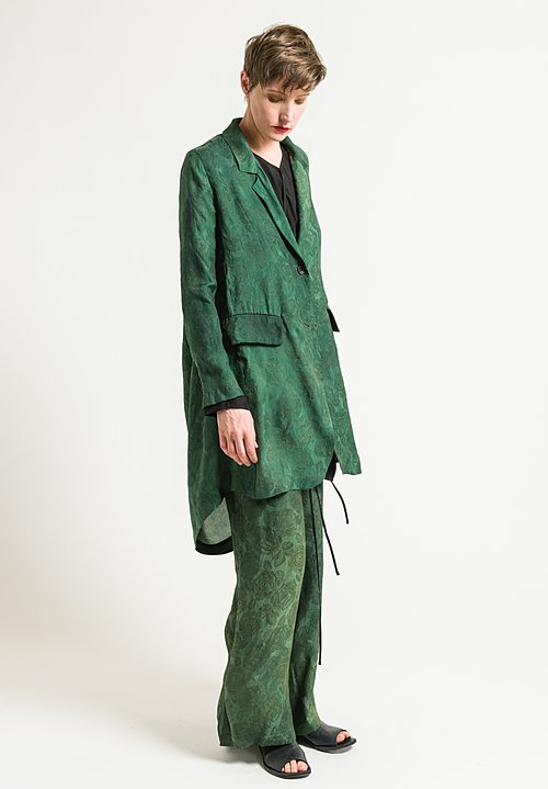 Uma Wang Stupore Kanti Jacket in Green