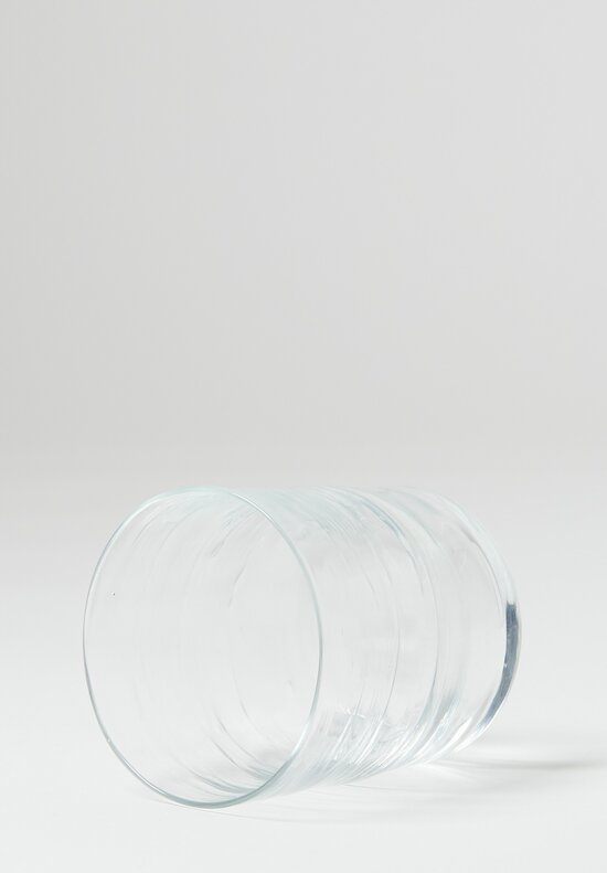 Michael Ruh Handblown Whiskey Glass in Clear