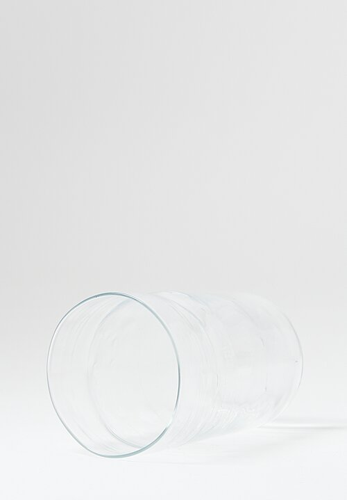 Michael Ruh Handblown Water Glass in Clear