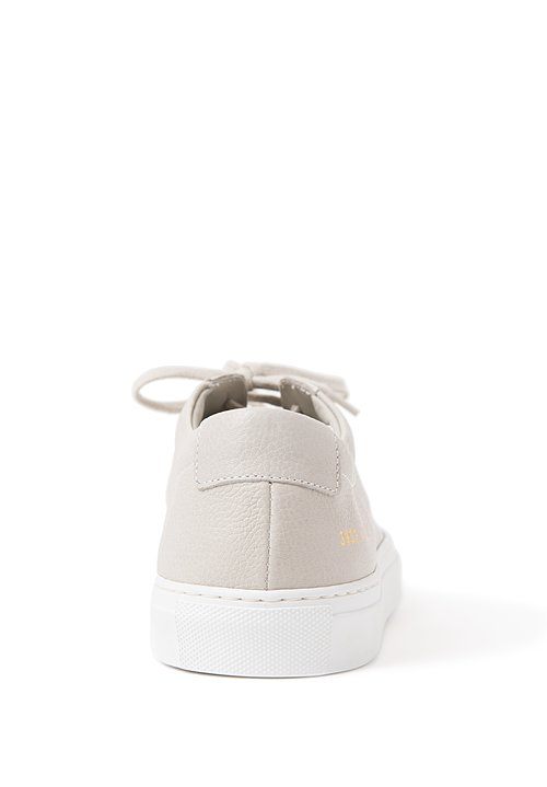 Common Projects Original Achilles Low Premium Sneakers in Carta