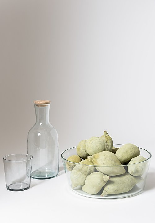 Cinq Etoiles Handmade Glass Bottle & Wooden Stopper