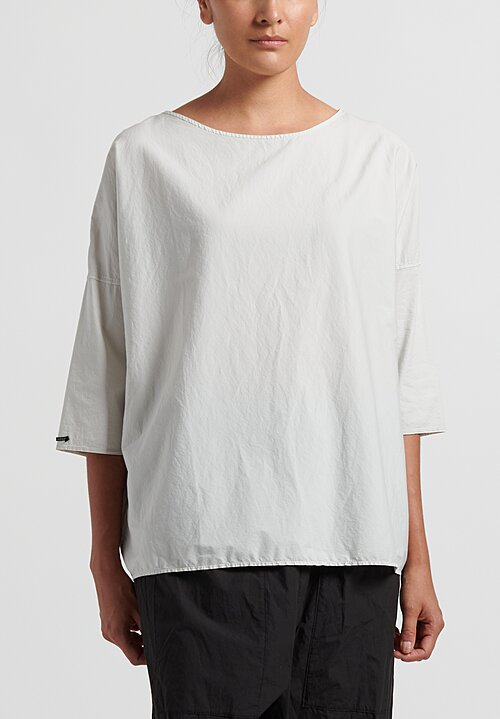 Album di Famiglia Relaxed Top in Rice