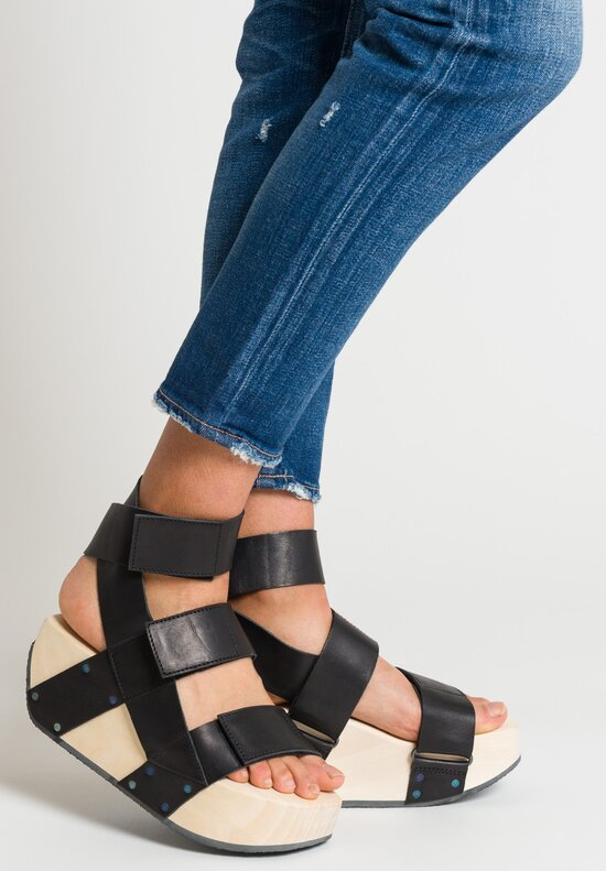 Trippen Unga Sandal in Black