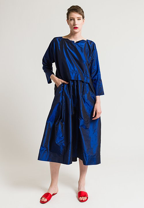 Daniela Gregis Marina Dress in Electric Blue/Purple