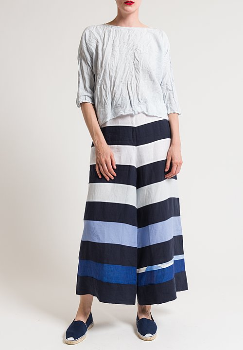 Daniela Gregis Tognon Stripped Pants in Multicolor