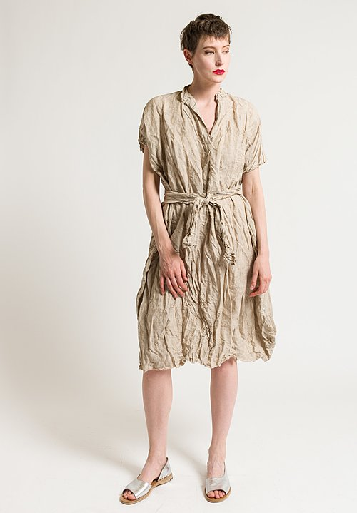 Daniela Gregis Manichina Dress in Natural
