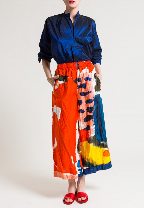 Daniela Gregis Printed Pants in Countryside