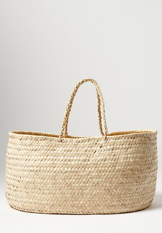 Daniela Gregis Woven Basket in Natural