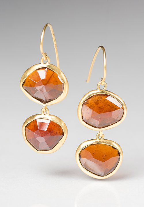 Greig Porter Spessarite Drop Earrings