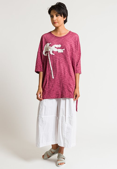 Gilda Midani Super Tee in Bordeaux