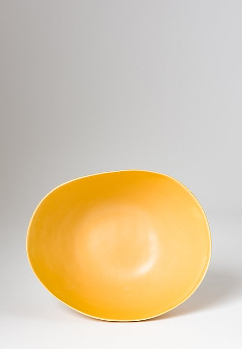 Christiane Perrochon Stoneware Bowl in Yellow