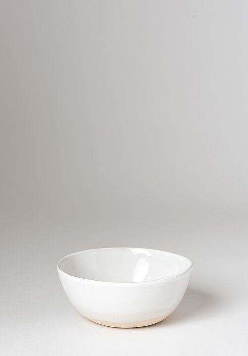 Christiane Perrochon Stoneware Cereal Bowl in White