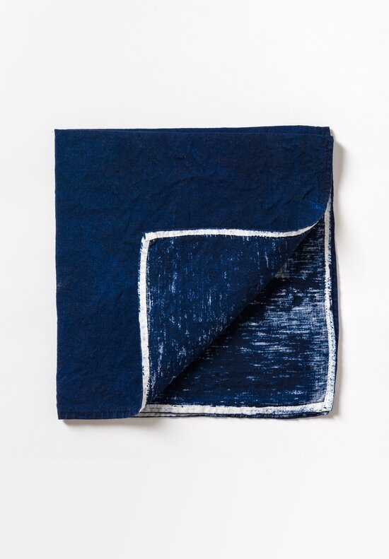 Handmade Napkin in Navy Blue