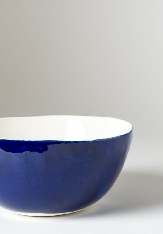 Exterior Solid Painted Salad Bowl in Blue