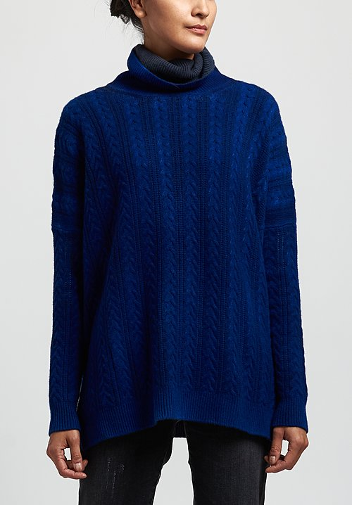 Avant Toi Twisted Cable Knit Sweater in China