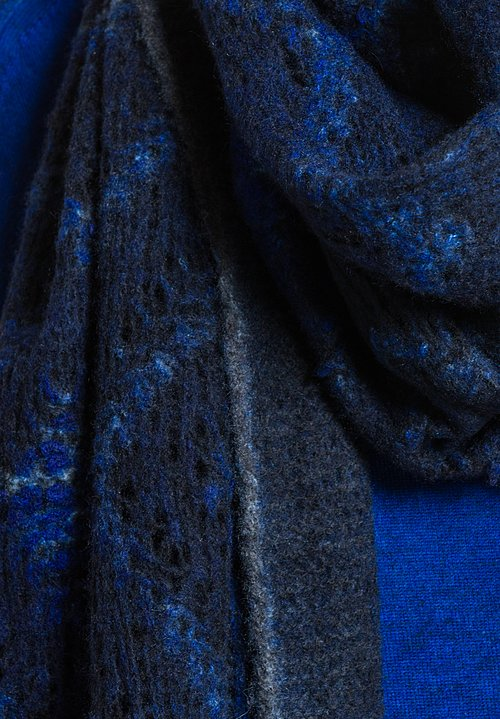 Avant Toi Diamond Distressed Scarf in China