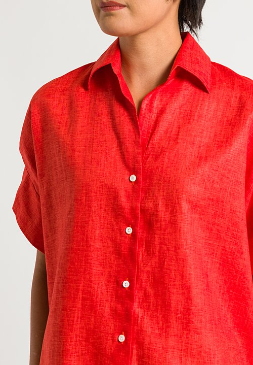 Emanuele Maffeis Waneta Shirt in Red