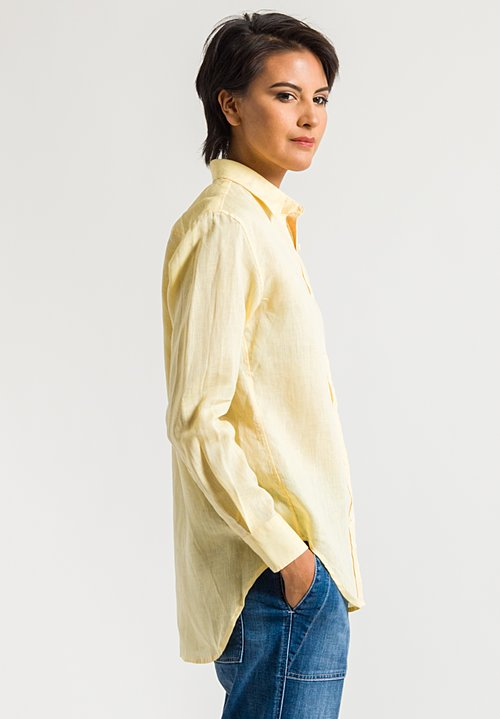 Emanuele Maffeis Judith Shirt in Yellow
