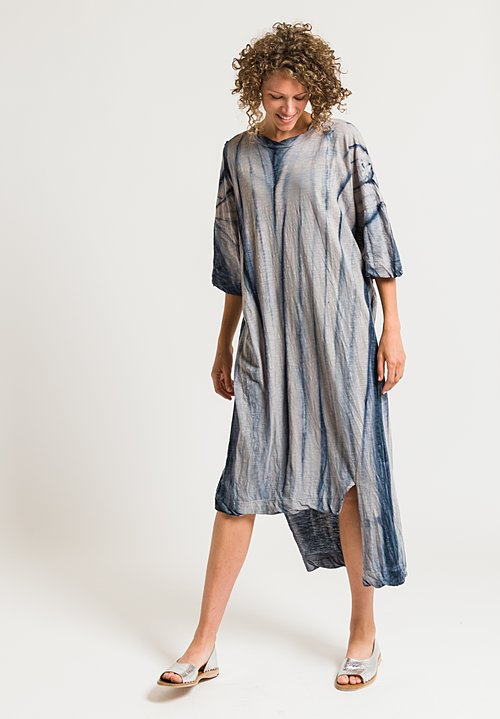 Gilda Midani Long Super Dress in Tin Tree