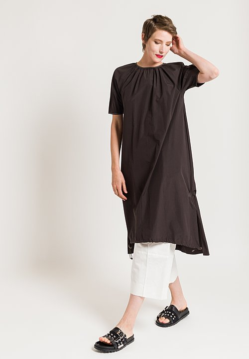 Marni Sporty Dress in Metal Brown