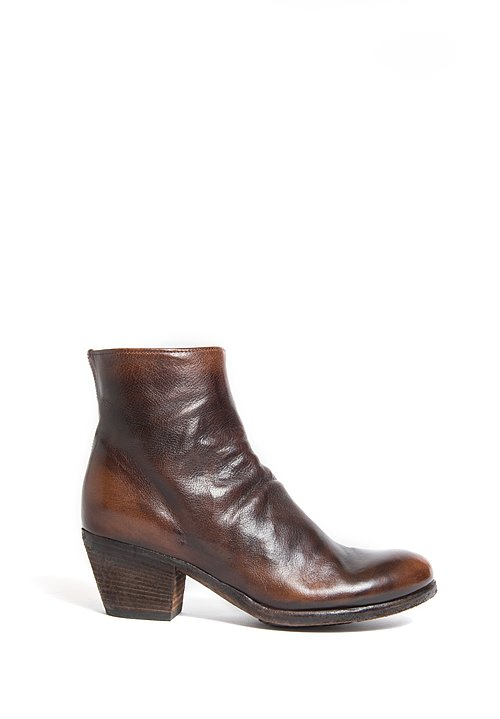 Officine Creative Giselle Ankle Boot in Tobacco
