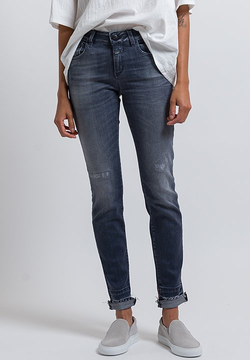 Closed Baker Distressed Hem Jeans in Used Wash