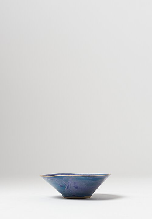 Laurie Goldstein Ceramic Conical Bowls in Blue