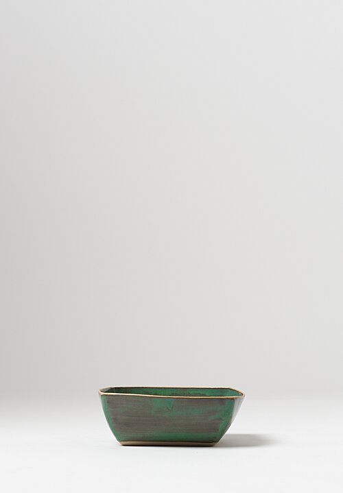 Laurie Goldstein Ceramic Square Bowls in Blue