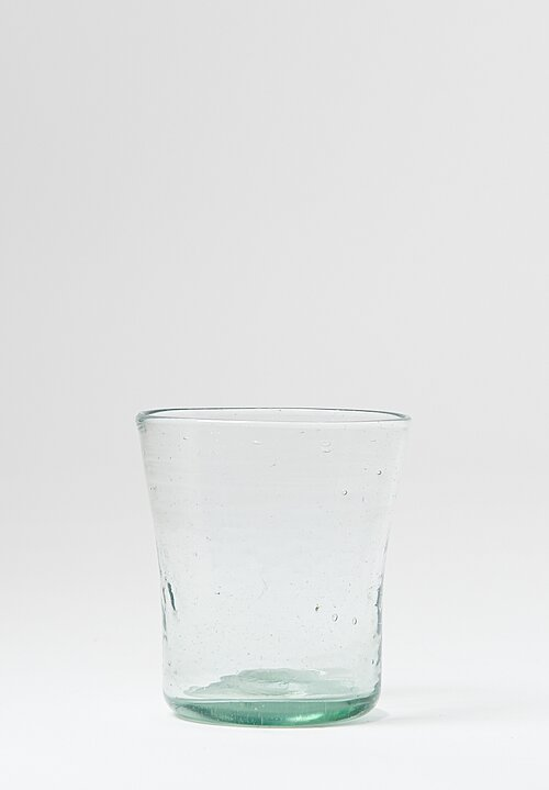 La Soufflerie Handblown Transparent Wide Tumbler Glasses