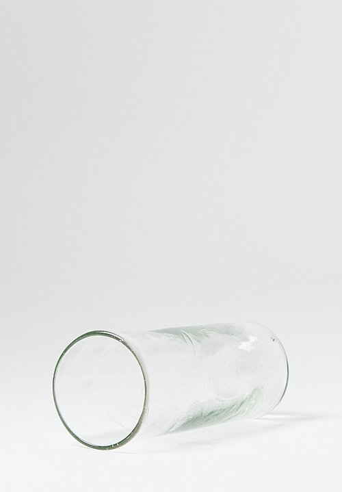 Hand Blown Transparent Iced Tea Glasses