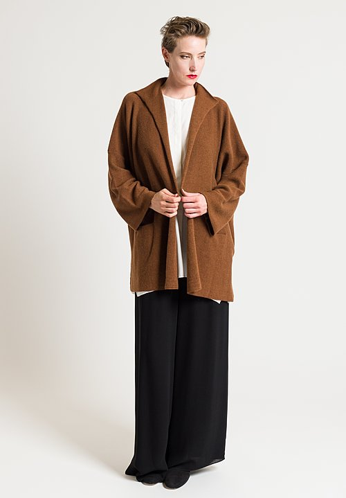 Shi Wendal Cardigan in Renna Brown