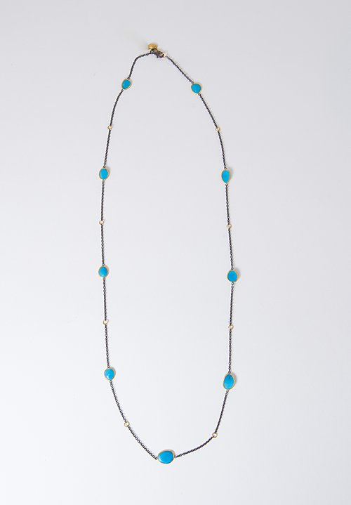 Lika Behar Sleeping Beauty Turquoise Necklace