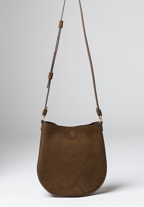 Stiebich & Rieth Loop Bag in Whisky Suede