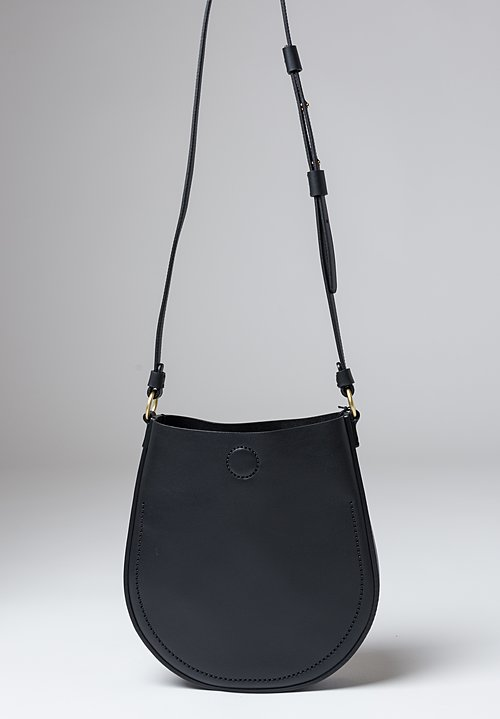 Stiebich & Rieth Loop Bag in Black Nappa