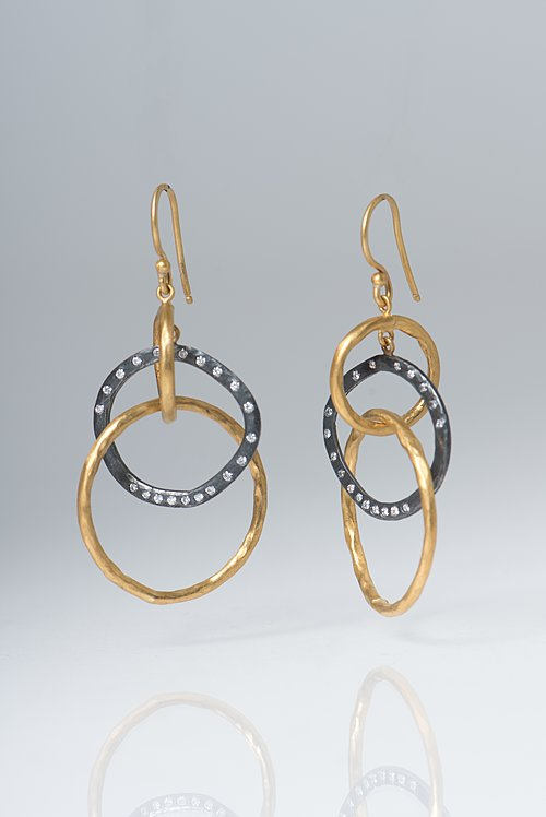 Lika Behar Diamond Kelly Earrings