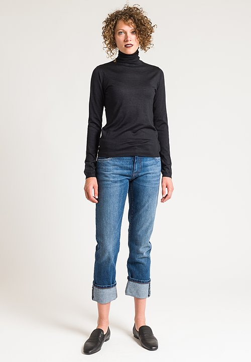 Brunello Cucinelli Turtleneck Sweater in Black