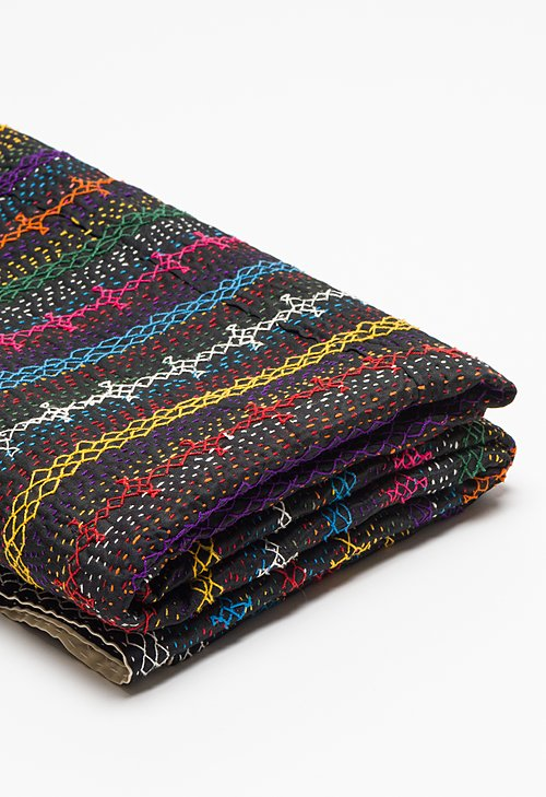 Traditional Sindh Stitched Kantha Throw